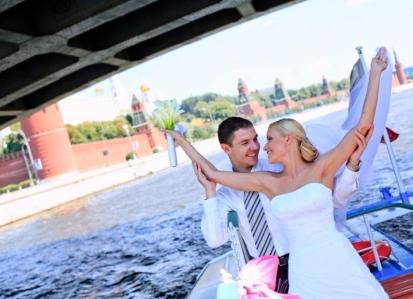 Как организовать свадьбу на теплоходе?